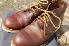 Red-Wings-Work-Chukka-Copper-Rough-and-Tough-with-gray-chinos