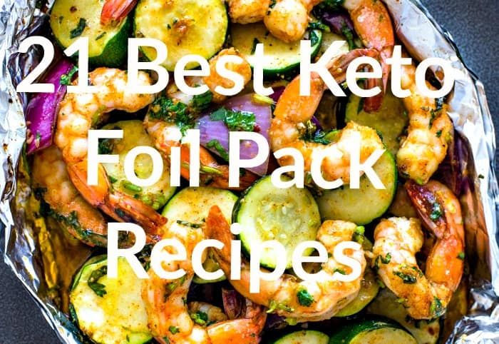 21 Best keto foil pack recipes pin