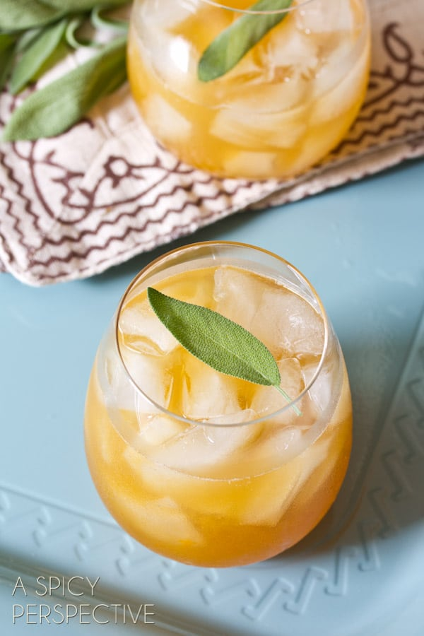 Summer bourbon cocktails