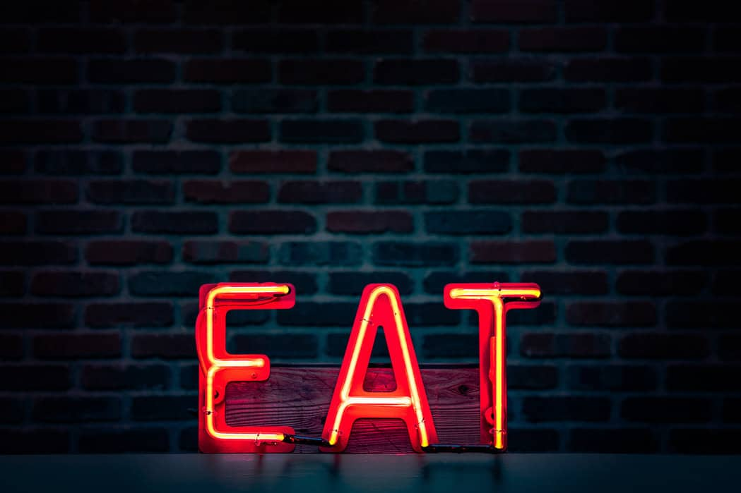 Eat -Neon Sign